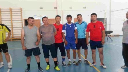 волейбол 2 место ЦДНГ-1