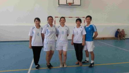 волейбол 4 место сборная қыздар